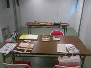 輪織り体験会を開催しました