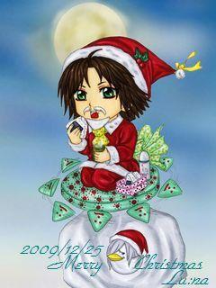 クリスマス(婆沙羅)毛利
