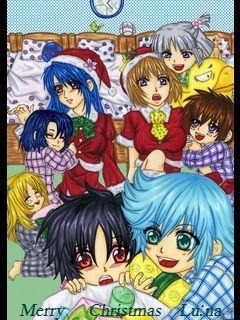 クリスマス(種・運命)夢絵